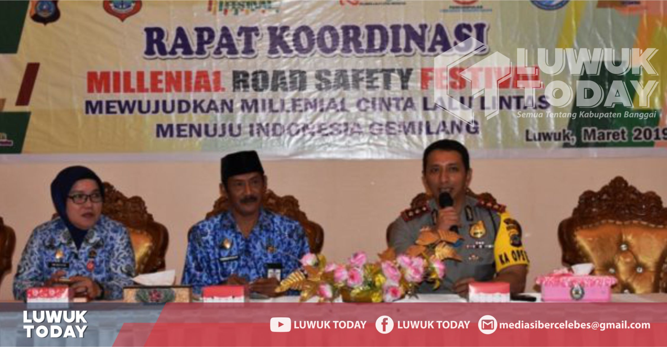 Photo of Event Nasional Millenial Road Safety Festival 2019 Digelar Di Luwuk