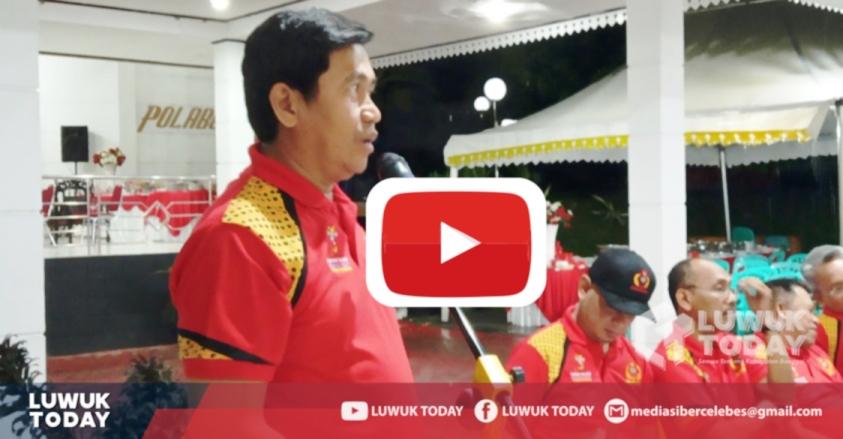 foto Bupati Banggai telah mencairkan uang ke rekening KONI Kabupaten Banggai sejak 18 April 2019, pernyataan Bupati di Jabatan Bupati Banggai.