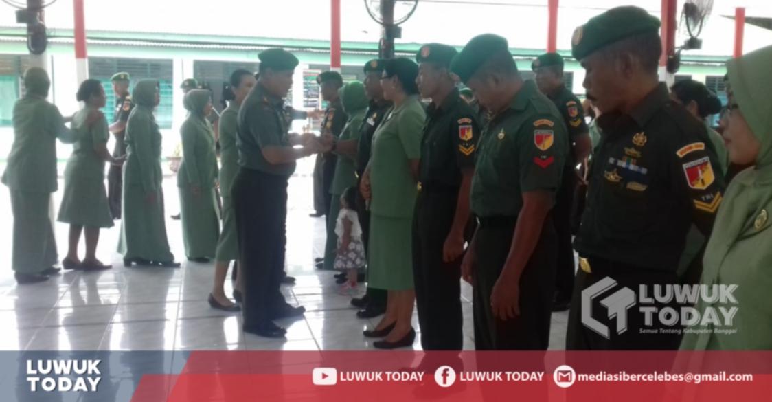 Photo of 28 Prajurit Kodim 1308 Luwuk Banggai Naik Pangkat