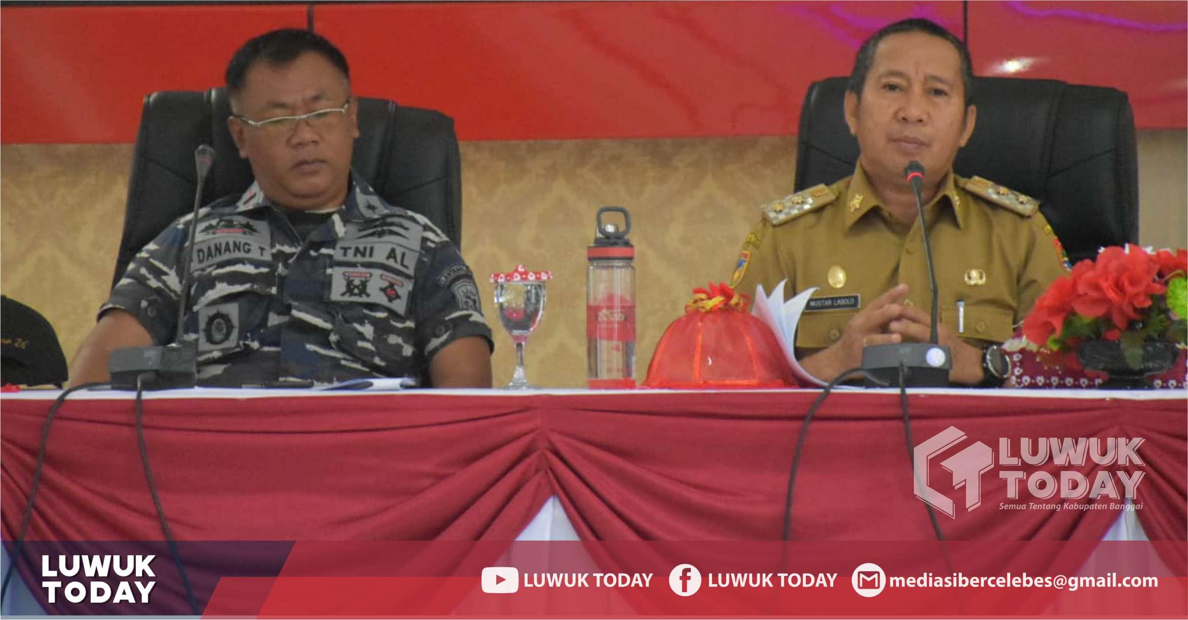 Photo of Mantapkan Event International, Wabup H. Mustar Labolo Pimpin Rapat Evaluasi