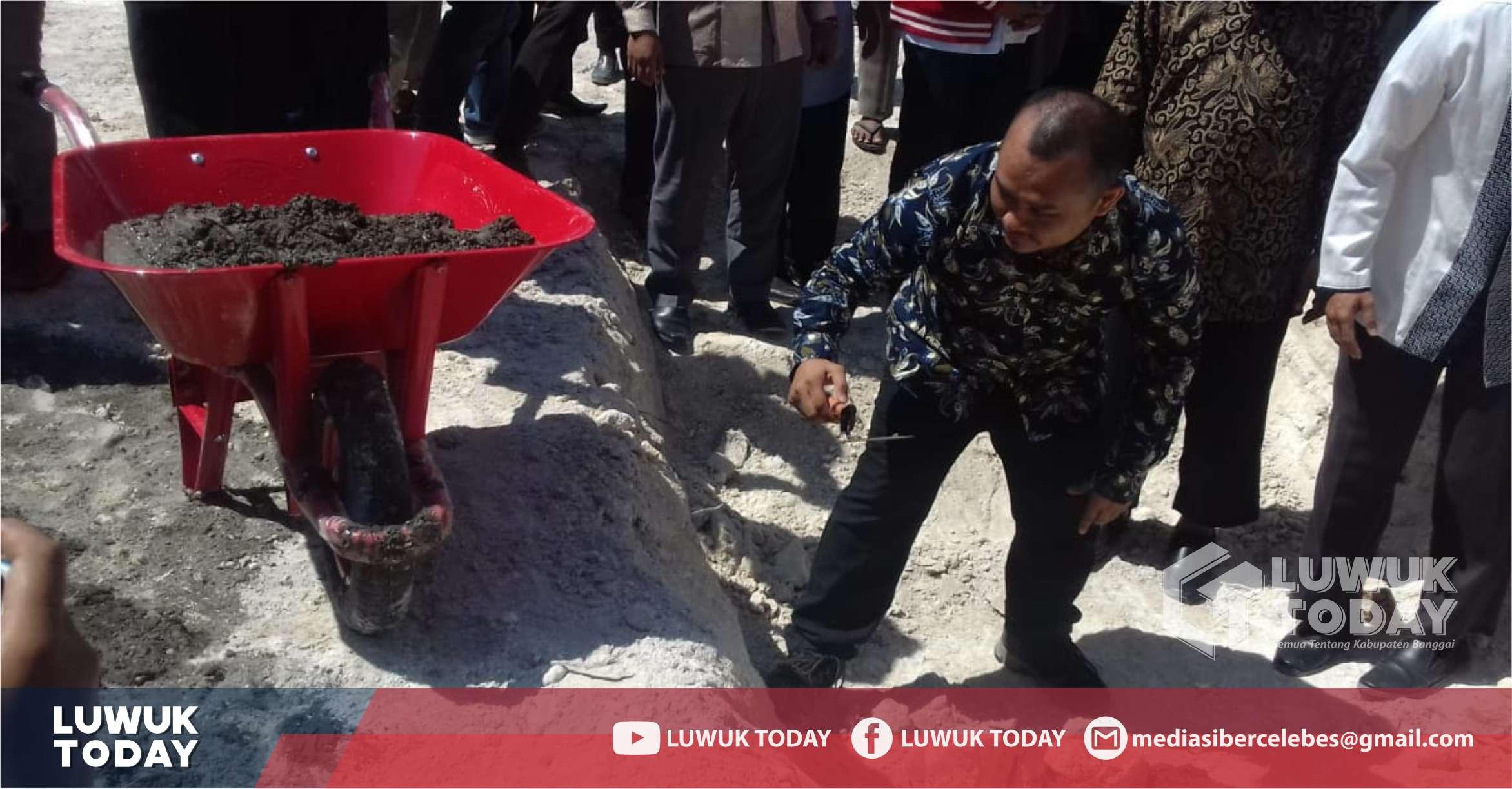 Photo of Peletakan Batu Pertama Pembangunan Masjid Wahdah Islamiyah Banggai