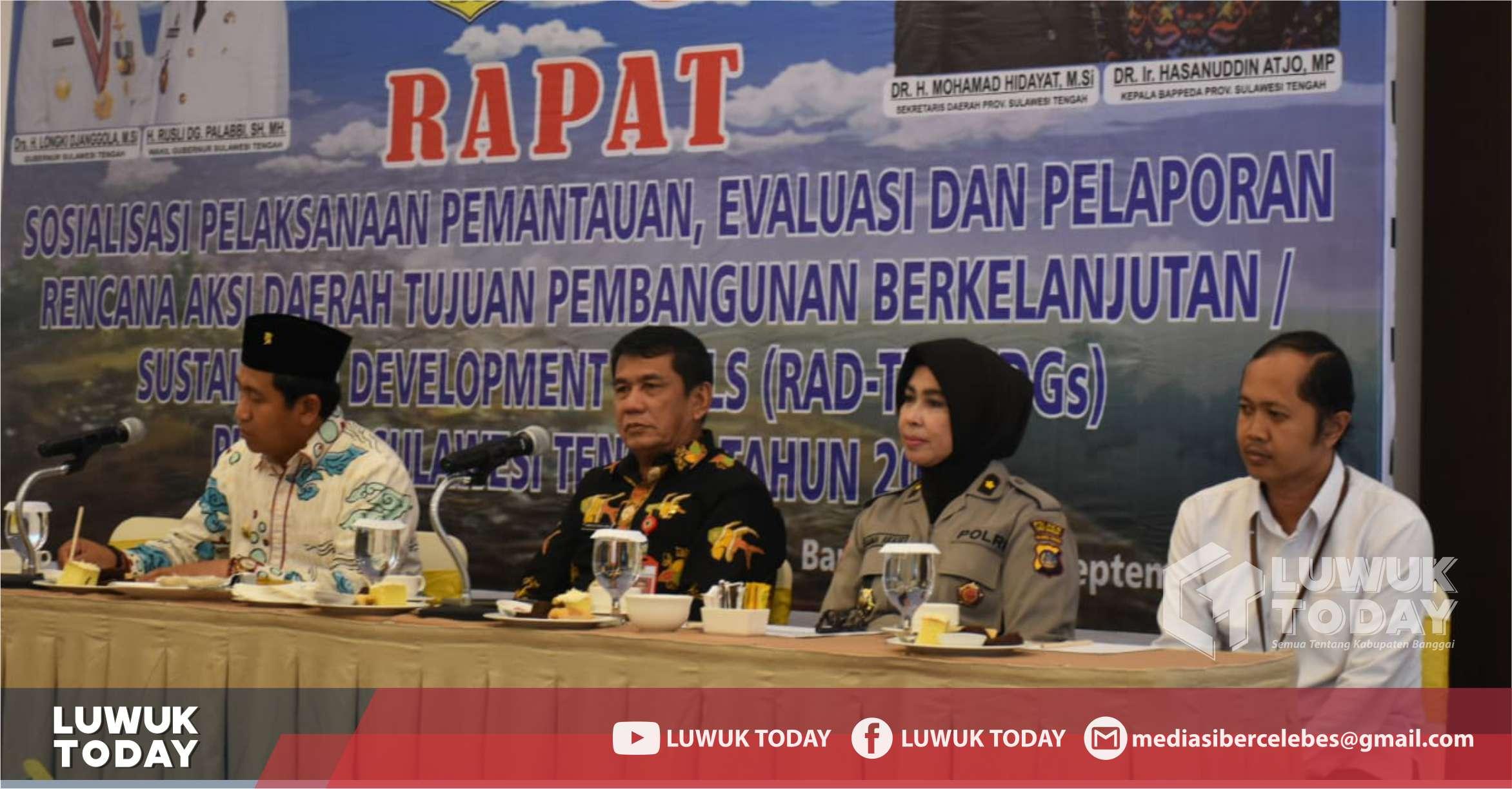 Photo of Pemda Banggai Ciptakan Sinergitas: GunaTujuan Pembangunan Berkelanjutan