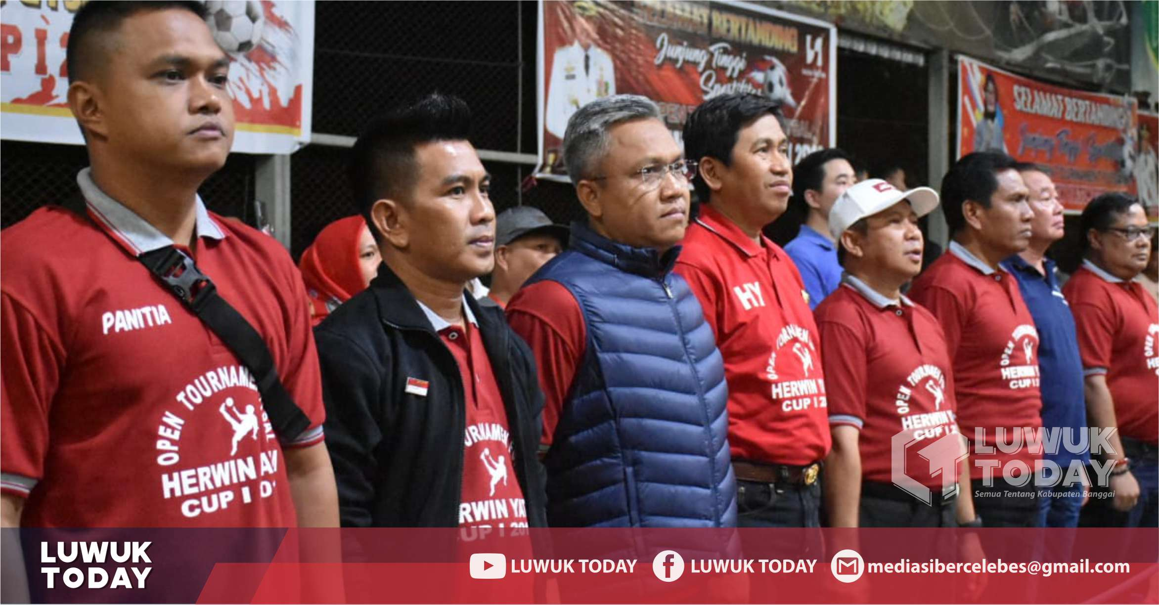 Photo of 48 Tim Bersaing Di Open Tournament Futsal Herwin Yatim Cup I 2019