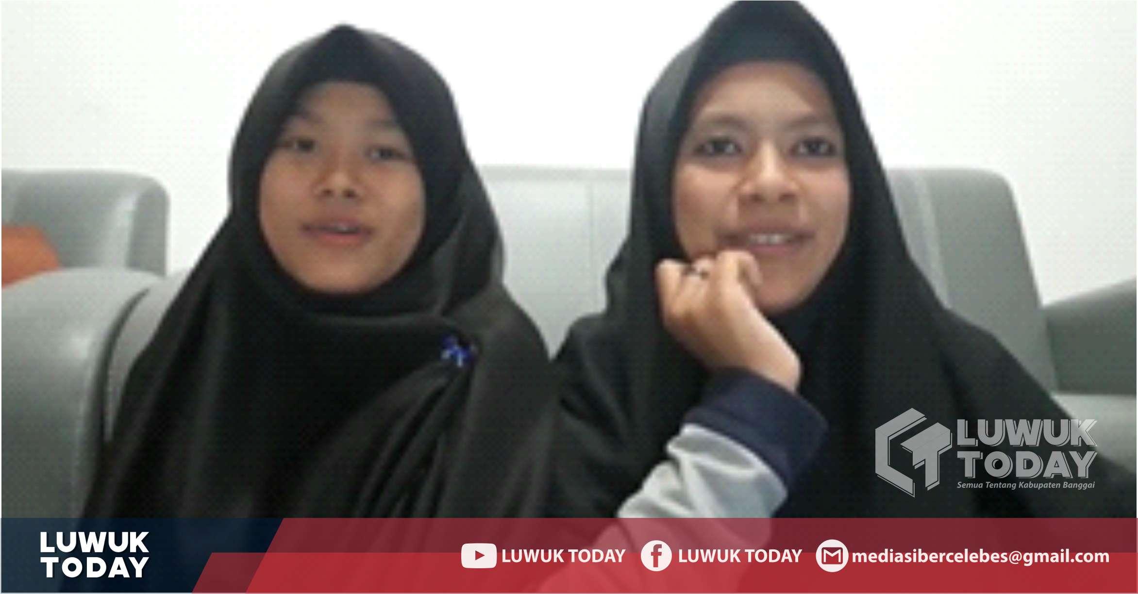 Photo of Bikin Baper, Selain Menghafal Quran 2 Siswi Pesantren Darul Hikmah Luwuk Ini Punya Suara Emas