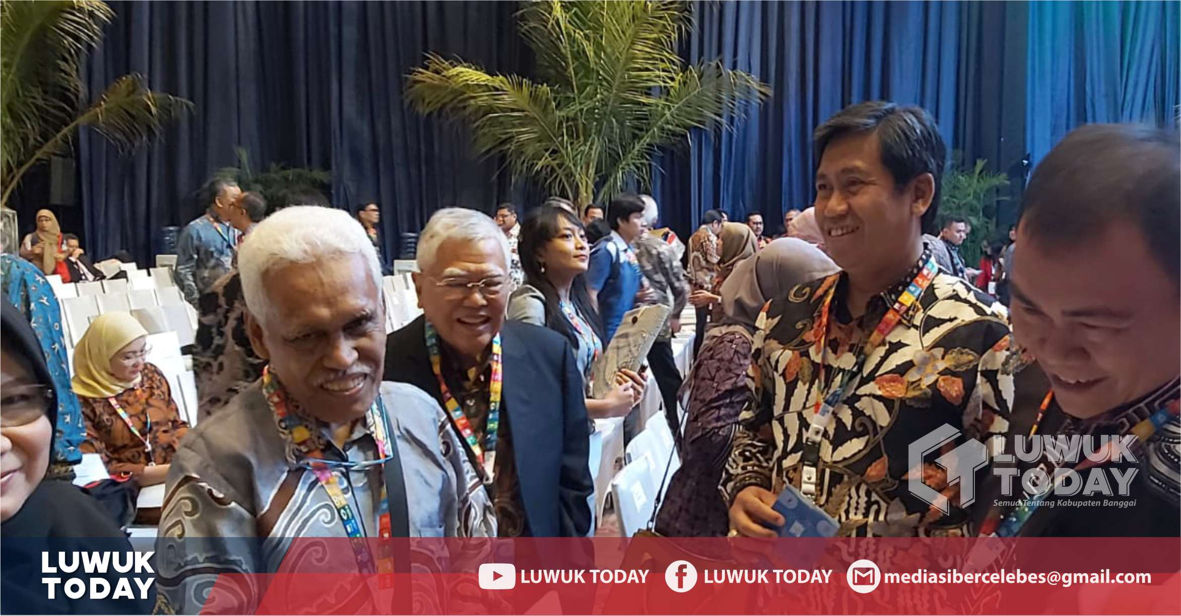 Photo of Lagi! Bupati Banggai Terima Undangan Nasional Upaya Mengurangi Kemiskinan SDGs 2019