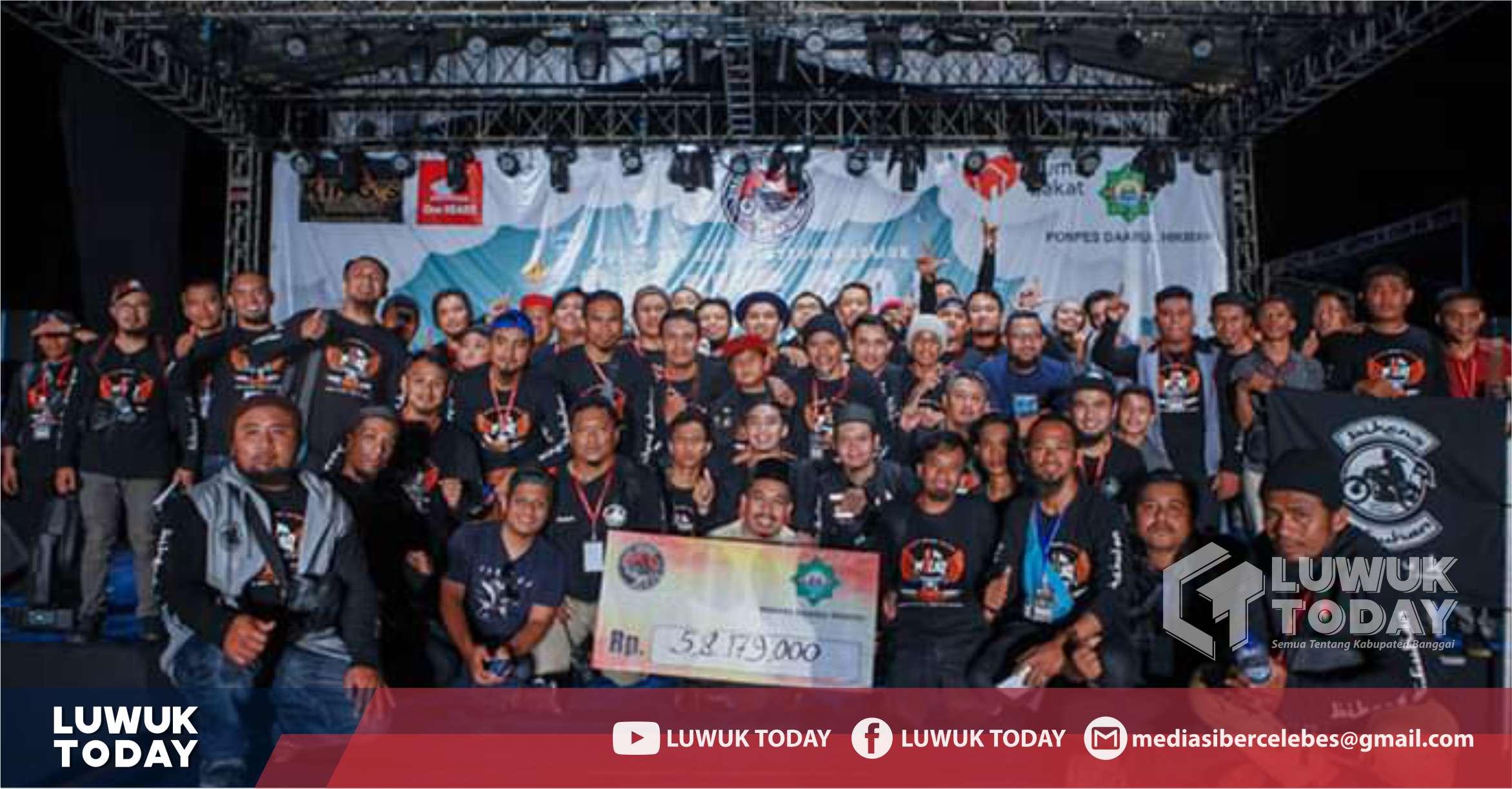 """Photo of Konser Amal Sabyan, """"Banggai Berhijrah"""" Berhasil Kumpulkan Donasi Rp 58 Juta"""