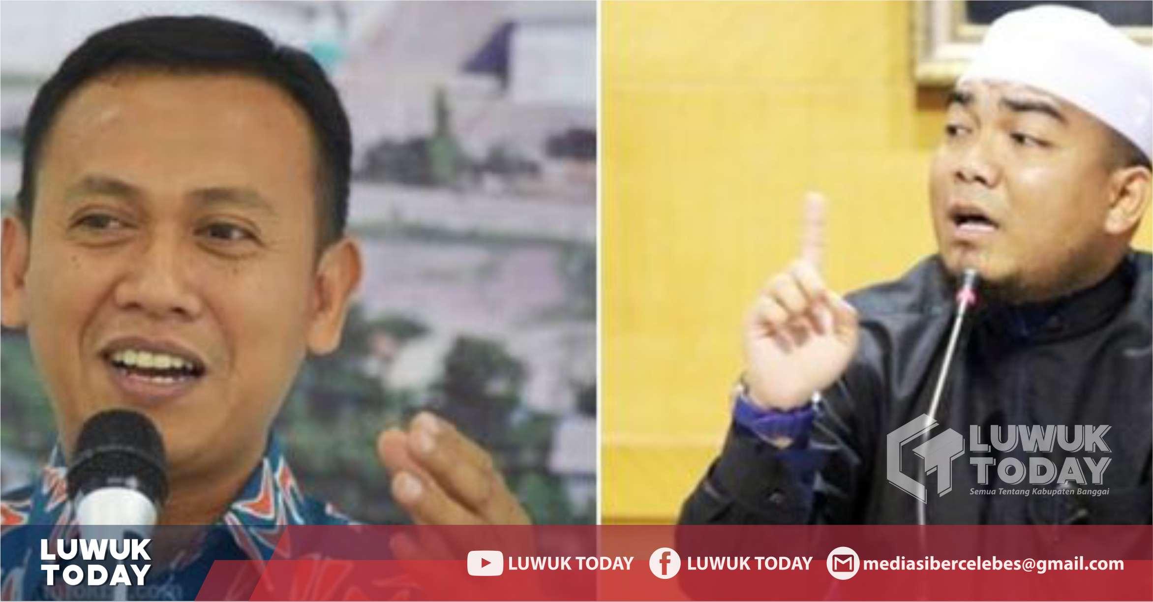 Foto Bupati Takalar Syamsari Kitta bersama Ustad Muhammad Fakhrurrazi Anshar akan menghadiri LDK MPM Unhas Berhijrah sebagai keynote speaker, Sabtu (26/10/2019)