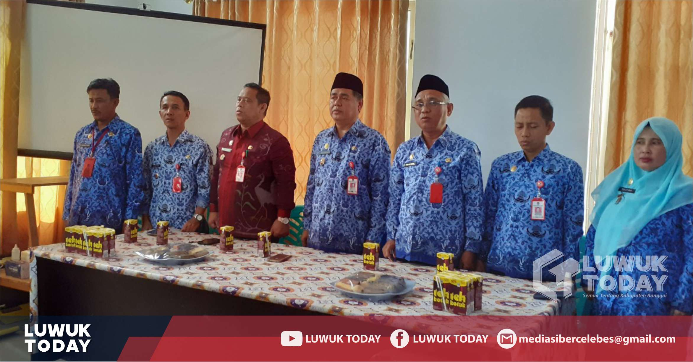 Photo of Pemberian Sanksi Disiplin dan Serah Terima Jabatan Kepala RSUD Kab. Banggai