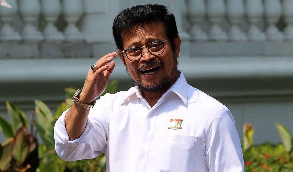 Foto Anggota Komisi IV DPR RI, Hermanto meminta Menteri Pertanian Syahrul Yasin Limpo unjuk kemampuan dalam 100 hari kerja.