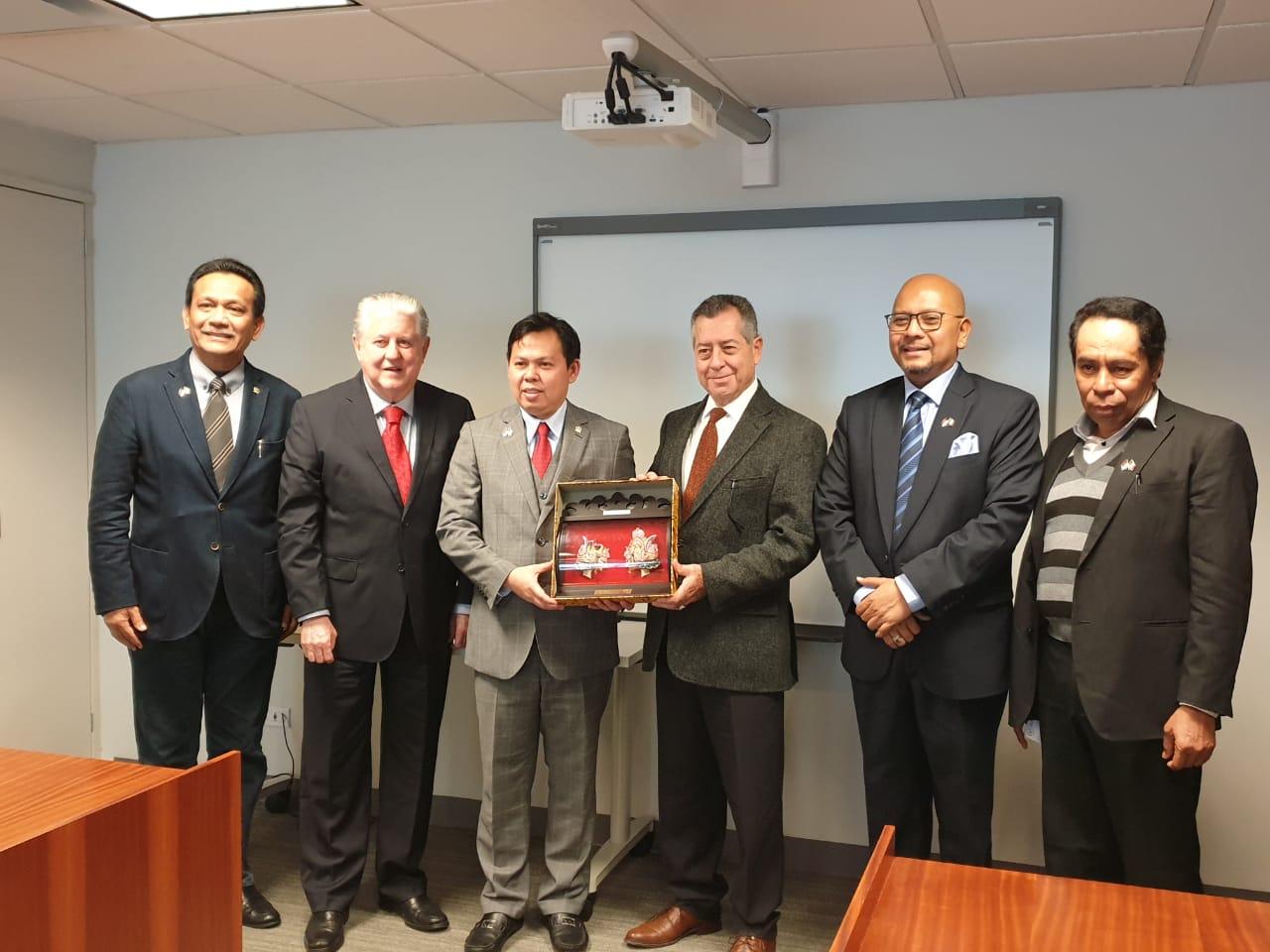 Photo of DPD RI Temukan Peluang Bisnis Perikanan dan Transportasi di Meksiko