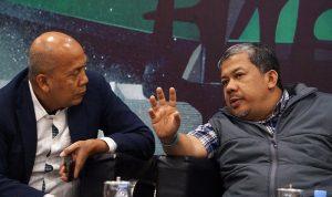 Foto Pilkada melalui DPRD kemunduran Demokrasi, wakil ketua komisi II DPR Saan Mustofa dan Fahri Hamzah dalam diskusi di Kompleks Parlemen Senayan Jakarta