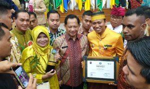 Foto Kemendagri Beri Penghargaan Swasti Saba Wistara Kabupaten Takalar/sumber foto: istimewa