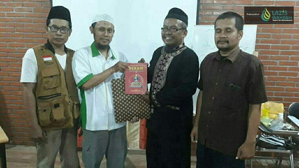 Foto Workshop Pelatihan Bekam Lazis Wahdah.