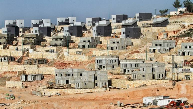 Foto Pemukiman Ilegal Israel di Tepi Barat