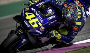 Foto Valentino Rossi uji mesin Yamaha 2020 /sumber foto:belasport.com