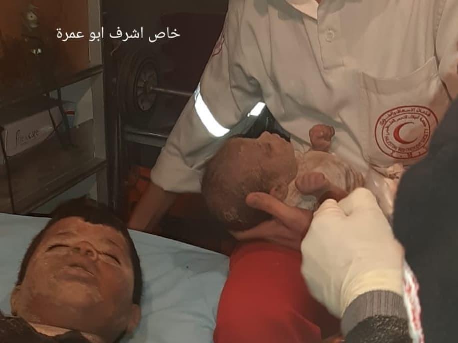 Foto Korban serangan Israel ke Gaza yang makin brutal. Foto: Net