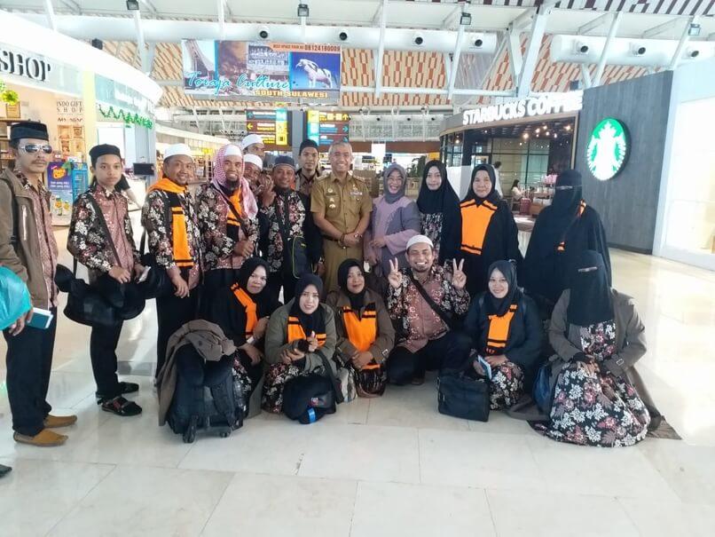 Foto  Jamaah berumrah pada akhir Oktober kemarin bersama Paket Ibadah Umroh bersama PT. Timur Utama Wisata.