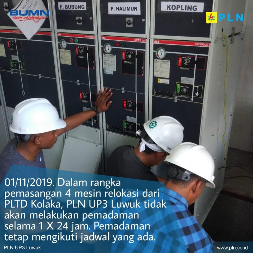 Photo of PLN Luwuk Tepis Isu Pemadaman 24 Jam