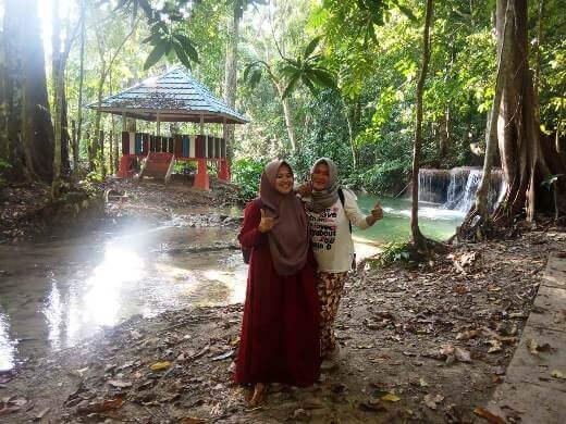 Wisata Permandian Dendengan, Koyoan, Kecamatan Nambo. Foto : Jebri/LT