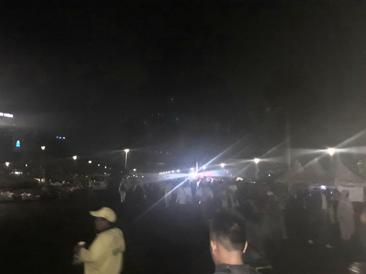 Foto Jelang acara PA 212, Masyarakat dari berbagai daerah mulai datang ke Monas /sumber foto: Luwuk.today