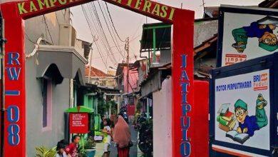 Photo of Jakarta Kini Punya Kampung Literasi, Kampung Literasi Jatipulo Namanya