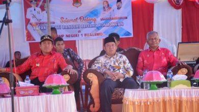 Photo of Resmikan Gedung Baru SD Sampaka dan Lab Komputer, Bupati Herwin Singgung Jalan Bualemo-Balantak