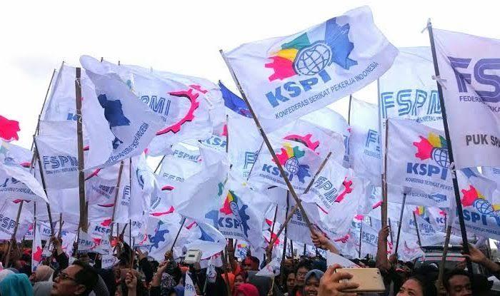 Foto Ketua Baleg DPR Terima Perwakilan Masa Aksi Demo Buruh