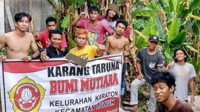 Photo of Karang Taruna Keraton Gotong Royong Pembuatan Jalan Setapak Di Jalan Tanjung Jepara