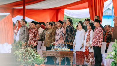 Photo of DPD RI Puji Presiden Jokowi Resmikan Monumen Fatmawati