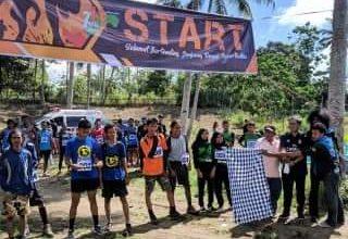 Photo of Mapala Untika Luwuk Banggai Sukses Gelar Trail Run
