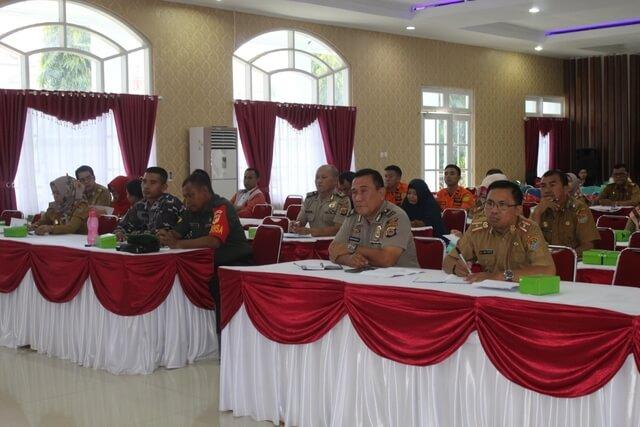 Foto Rapat koordinasi persiapan Festival Gelora Pagimana Tahun 2020, Selasa (4/2/2020).