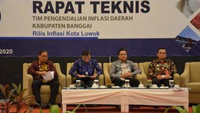 Photo of Kendalikan Inflasi, Sekda Abdullah Ali Hadiri Rapat Teknis TPID Kabupaten Banggai