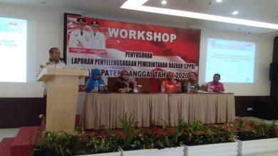 Photo of Workshop Penyusunan LPPD Tahun 2020 Dibuka Wabup Banggai