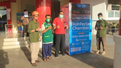 Photo of Wahdah Islamiyah Donasikan Satu Unit 'Disinfectan Chamber' untuk RS Dr. Tadjuddin Chalid Makassar