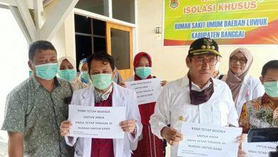 Photo of Audiece Bersama Tim Dokter, Bupati Herwin Yatim Pastikan Fasilitas Penanganan Covid-19 di BRSUD Luwuk