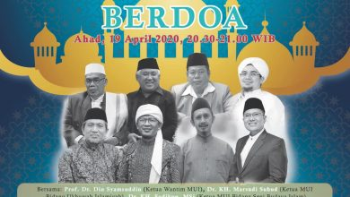 Photo of Gandeng Indosiar, Satgas Covid-19 MUI Gelar Indonesia Berdoa