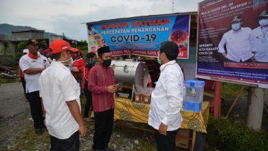 Photo of Kunjungi Posko Covid-19 Simpang Raya, Herwin : Tarawih Berjamaah di Rumah untuk Hindari Mudhorot