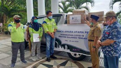 Photo of PAU Serahkan Bantuan Ratusan APD Ke Pemkab Banggai