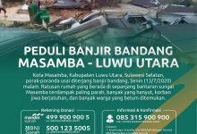 Photo of Peduli Bencana Banjir Bandang Masamba-Luwu Utara
