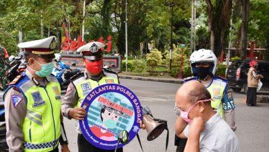 Photo of Satlantas Bersama Gugus Covid Kabupaten Banggai Razia Penggunaan Masker di Jalan