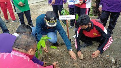 Photo of Sosialisasi Penanam Pohon Di SMA Negeri 2 Luwuk, Herwin : Tiap ASN Dicanangkan Tanam 25 Pohon Selama Menjabat