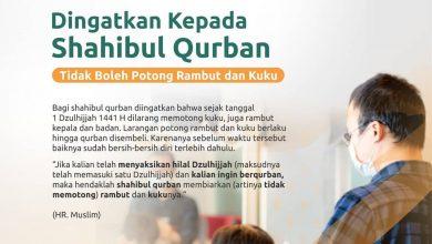 Photo of Tidak Boleh Potong Rambut dan Kuku Bagi Shahibul Qurban