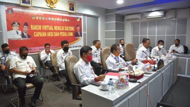 Photo of Menuju Sulteng Dalam Capaian Aksi dan Peduli HAM, Gubernur Sulteng Ikuti Rakor Virtual Bersama Dirjen HAM Kementrian Hukum