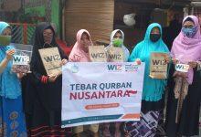 Photo of Bahagiakan Dhuafa di Hari Raya, WIZ Serentak Salurkan Daging Qurban di 3 Lokasi