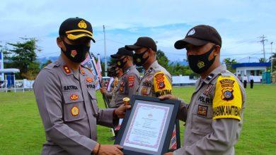 Photo of Kapolres Banggai Kembali Berikan Reward Personil Berprestasi