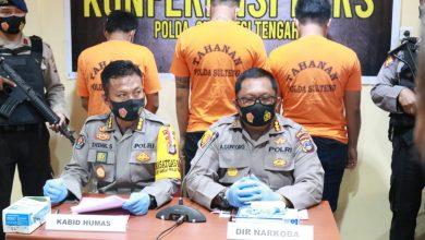 Photo of Satu Hari Dua Kasus Narkoba Diungkap Ditresnarkoba Polda Sulteng