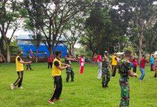 Photo of Jalin Sinergitas, Tiga Pilar Kecamatan Masama Kompak Olahraga Bersama