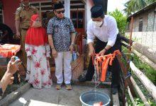 Photo of Bupati Herwin Resmikan Bantuan 5 Sumur Bor di Kelurahan Mendono