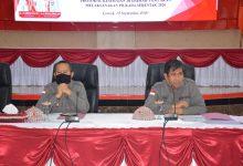 Photo of Menuju Pilkada Aman Covid-19, Bupati Pimpin Rakor Penegakan Hukum Protokol Kesehatan