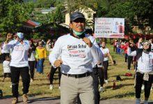 Photo of Gelar Banggai Sehat Bersenam Ceria, Herwin : Gelorakan Gerakan Moral Pinasa